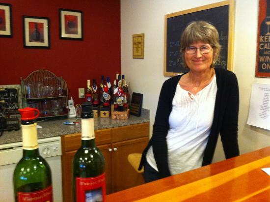 Joan Anderson, Winterport co-owner. Photo by Meg McKenzie