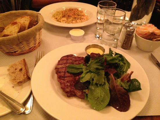 Balthazar: Salad instead of frites; a tasty sacrifice