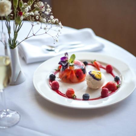 Mallams Restaurant: Summer berry jelly