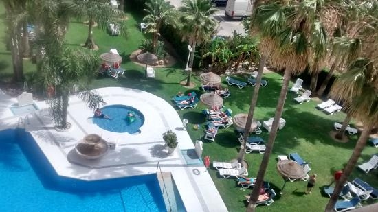 Hotel Parasol Garden: view from room