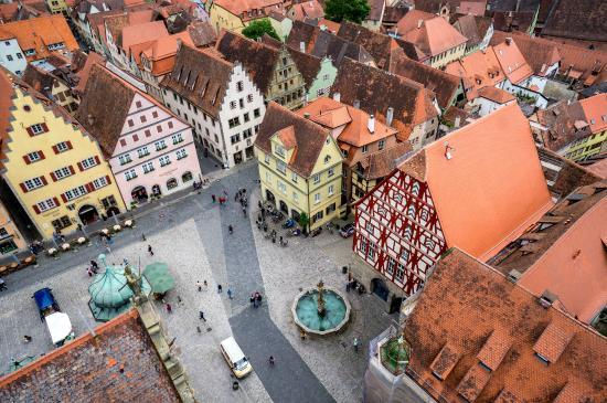 Rothenburger Rathaus: Marktplatz