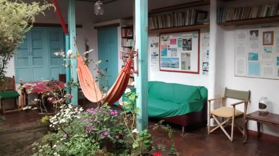 Anandamayi Hostel: Área comum
