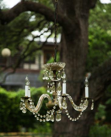Park Lane Guest House: Unique garden sculptures and decor