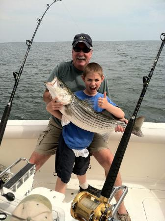 Long Time Com'n Charters & Sportfishing: Young anglers always welcome.