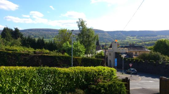 Glan y Dwr Bed & Breakfast: View from the 'Pan Y Fan' bedroom - 13th May 2015.