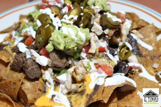 Nachos mexicanos - Picture of El Templo Restaurante ...