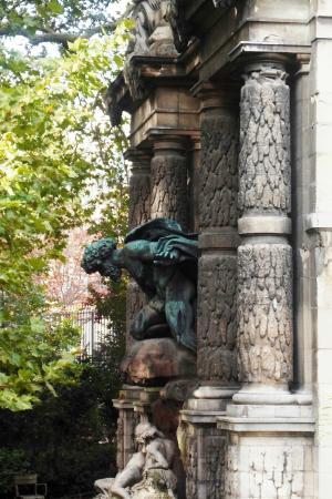 Paris, Fransa: Fontaine Médicis