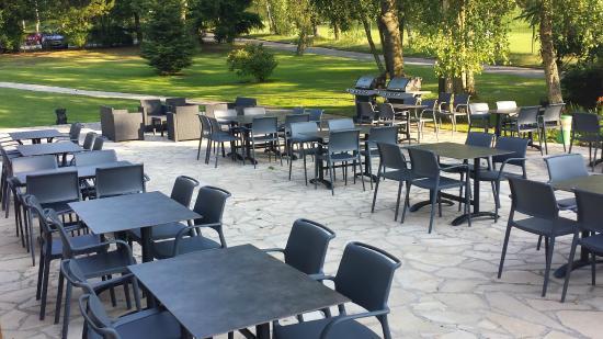 Restaurant photo de restaurant golf de domont domont for Hotel domont