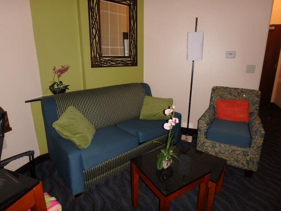 Fairfield Inn & Suites Alamogordo: Sitting area in room