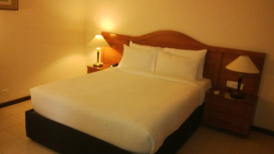 Halcyon Condominiums : Bedroom with a double bed