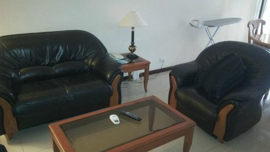 Halcyon Condominiums : Living-cum-Dining room
