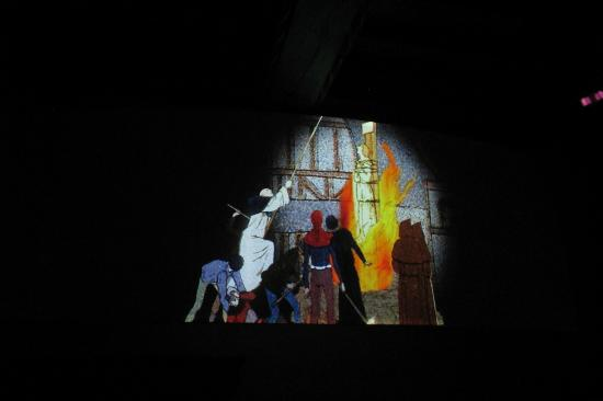 Maison de Jeanne d'Arc: one of the final images in the slide show I saw there