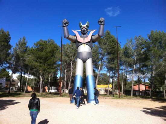 Estatua Gigangte de Mazinger Z