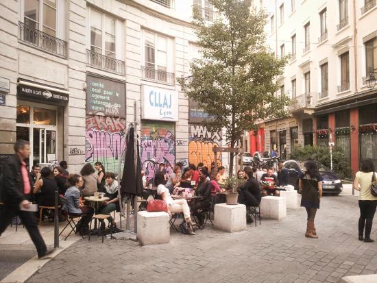 Cafe Place Des Terreaux Lyon