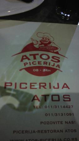 Pizzeria Restoran Atos