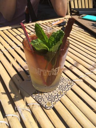 Ventiki Tiki Bar and Lanai: Venturi Mai Tai is fabulous and love the menu...wish I lived in Ventura!