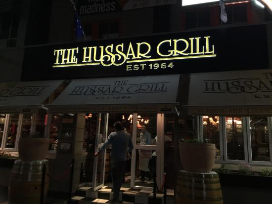 The Hussar Grill Mouille Point: The Hussar Grill