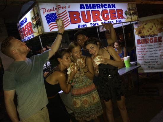 Everyone loves authentic American Burger in the Khoasan area PaulyBee's American Burger!