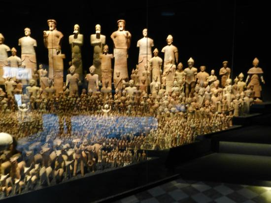 Museum of Mediterranean and Near Eastern Antiquitie: The lesser terracotta army