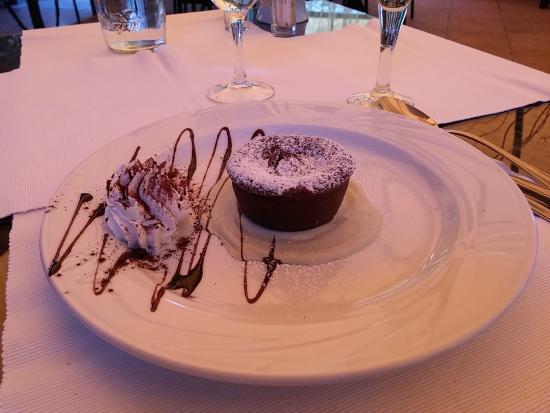 Aubergine: Dessert al cioccolato