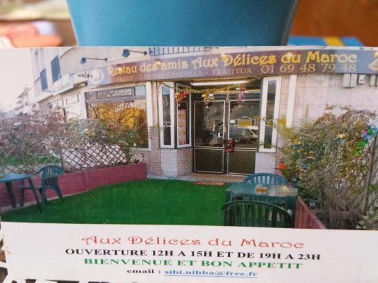 Draveil, France : Restaurant aux délices  du Maroc . Couscous un délice