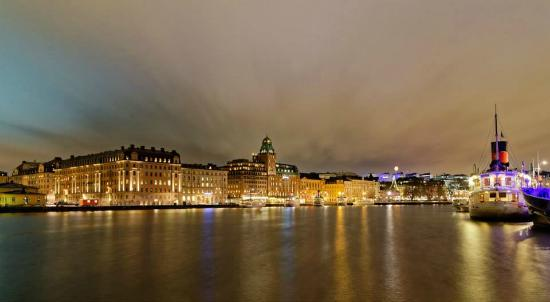 Radisson Collection Strand Hotel, Stockholm: L'hôtel et la baie