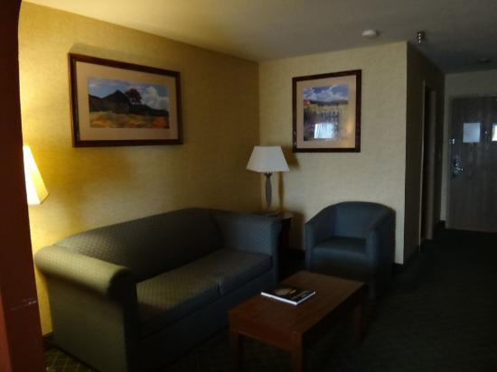 Comfort Inn & Suites Los Alamos: living room