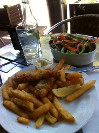 The Mercantile Hotel: mon fish and ships of the day