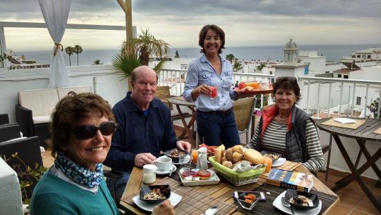 Hostal Don Peque: heavenly breakfast