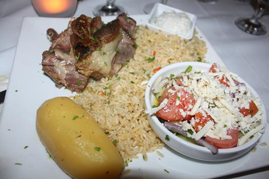 Taverna Gorgona: Roast Lamb