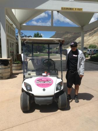 New shuttle service from Wine Country Inn to downtown Palisade