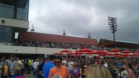 Canterbury Park : A shot of the grandstand