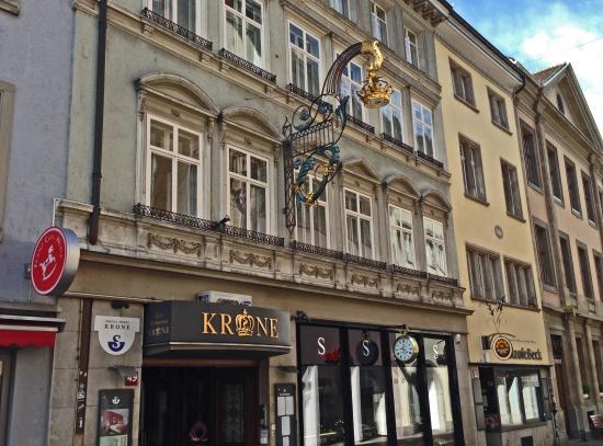 Eingang bild von sorell hotel krone winterthur for Sorell hotel krone