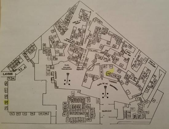San Pedro de Alcantara, Spanyol: Plano del hotel