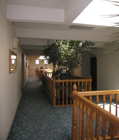 Posada de San Juan: Interior Hallway to Our Room