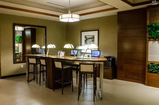 guest work station in lobby Picture of The Westin Minneapolis