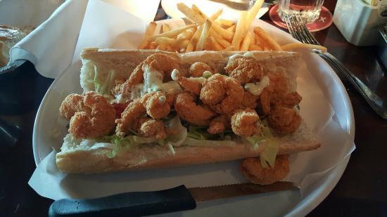 Shrimp Po Boy Picture Of Pappadeaux Seafood Kitchen Beaumont Tripadvisor