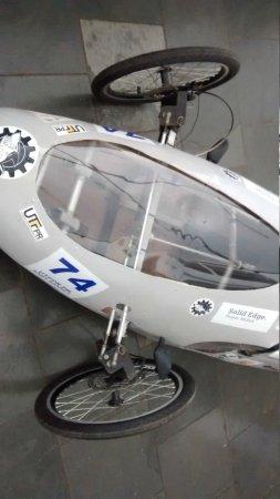 Protótipo da Eng. Mecânica da Universidade Tecnológica.