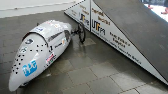 Protótipo da Eng. Mecânica da Universiade Tecnológica.