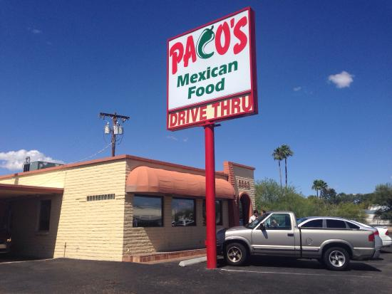 Paco S Mexican Food Tucson Az