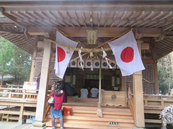 Heitate Shrine: 本殿