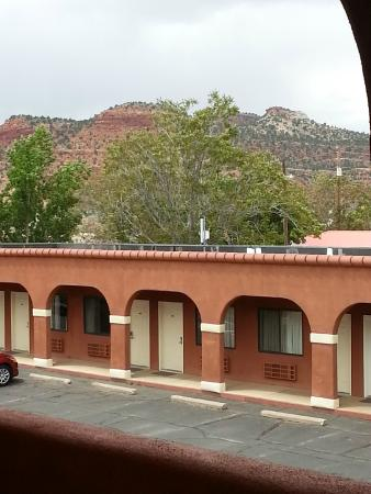 Rodeway Inn: View from room