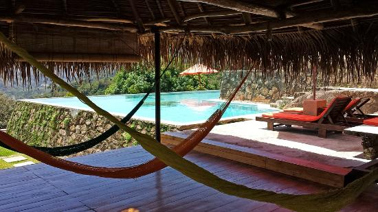 Verana: Yoga palapa - day use is for chillin.