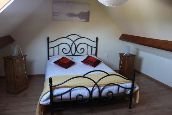 A la Ferme: Loft bedroom