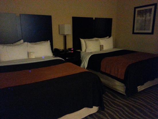 Comfort Inn & Suites Lexington Park: Comfy linens