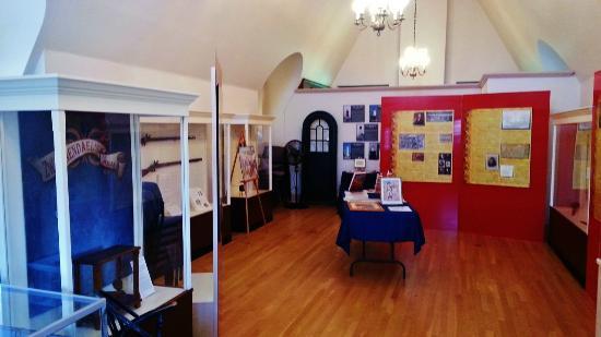 Zwaanendael Museum: Exhibits upstairs