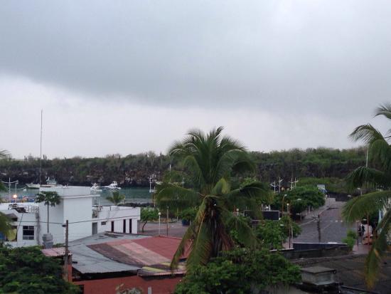 Posada del Mar: Дождливо-приятное утро