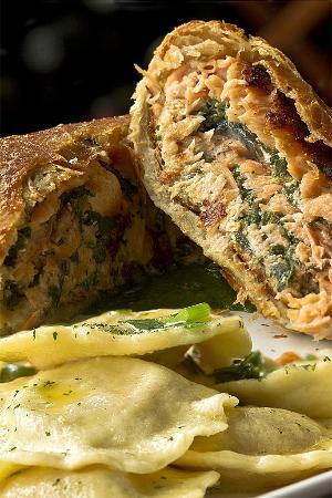 Festival della Pasta: SALMONE IN CROSTA DI PANE