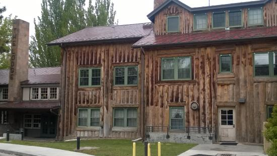 Los Alamos Historical Museum: Fuller Lodge.  Used as a guest quarters for the Manhattan Project.