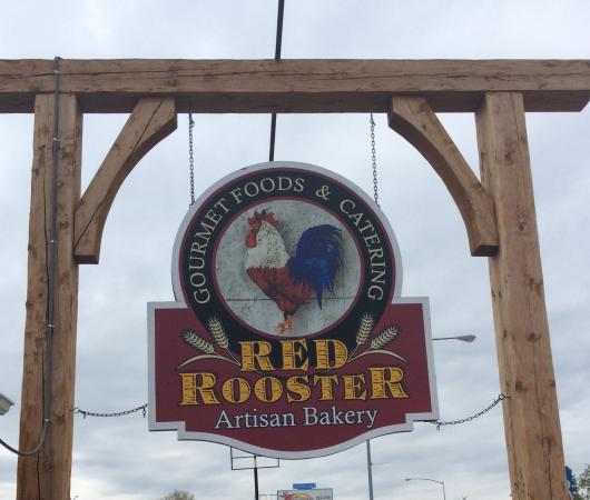 Red Rooster Artisen Bakery And Catering: So you know what to look out for in Hamilton. Just past Safeway heading South!